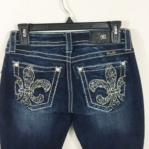 NEW MISS ME JEANS Boot Cut Size 26